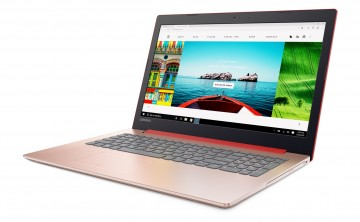 Фото 1 Ноутбук Lenovo ideapad 320-15IKB Coral Red (80XL0422RA)