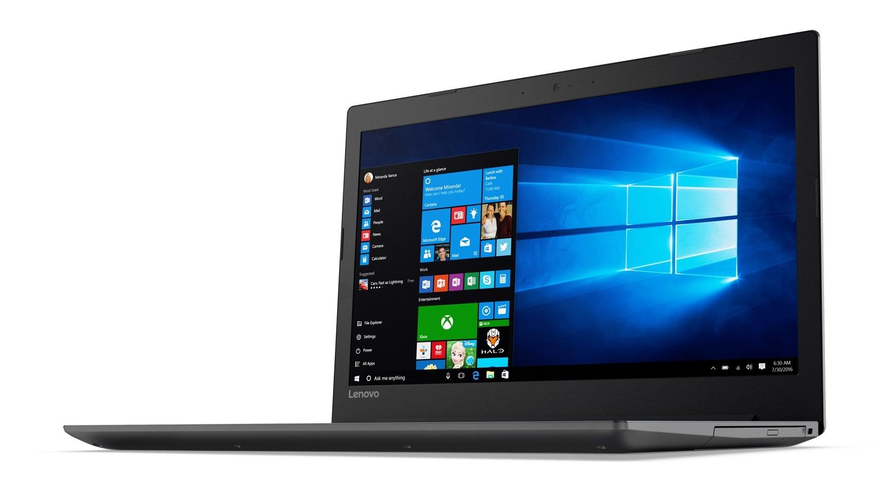 Фото  Ноутбук Lenovo ideapad 320-15IKB Onyx Black (80XL041VRA)