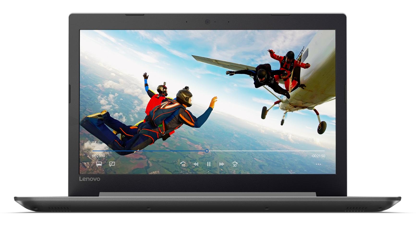 Фото  Ноутбук Lenovo ideapad 320-15AST Platinum Grey (80XV010FRA)