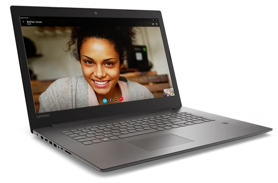 Фото  Ноутбук Lenovo ideapad 320-17IKBR Onyx Black (81BJ005FRA)
