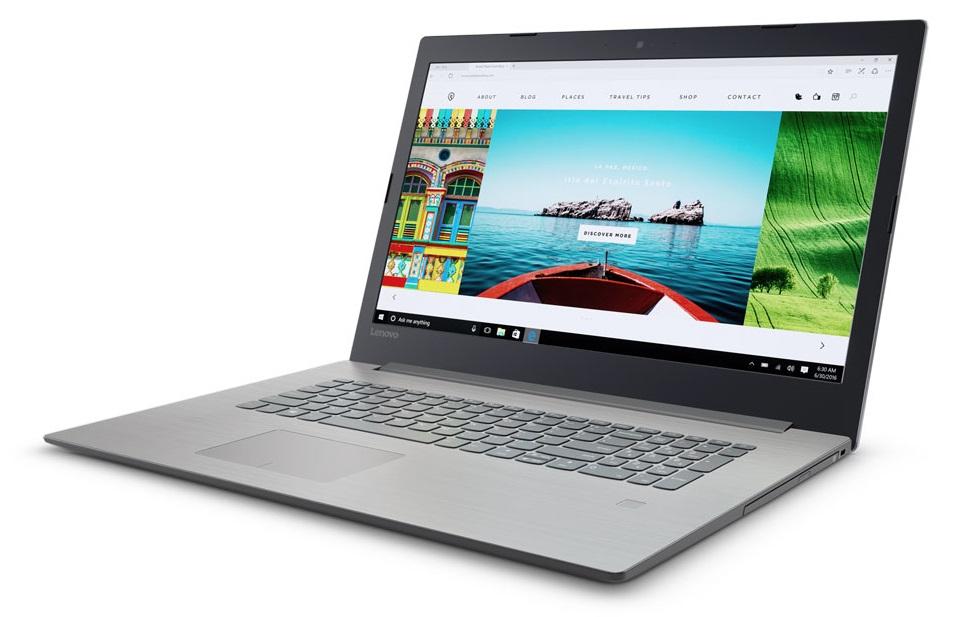 Фото  Ноутбук Lenovo ideapad 320-17IKB Platinum Grey (81BJ005LRA)