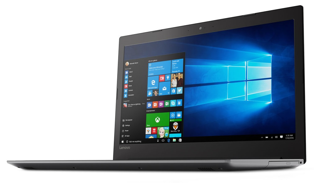 Фото  Ноутбук Lenovo ideapad 320-17IKB Onyx Black (80XM00A6RA)
