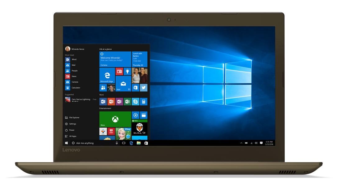 Фото  Ноутбук Lenovo ideapad 520-15IKB Bronze (81BF00EHRA)