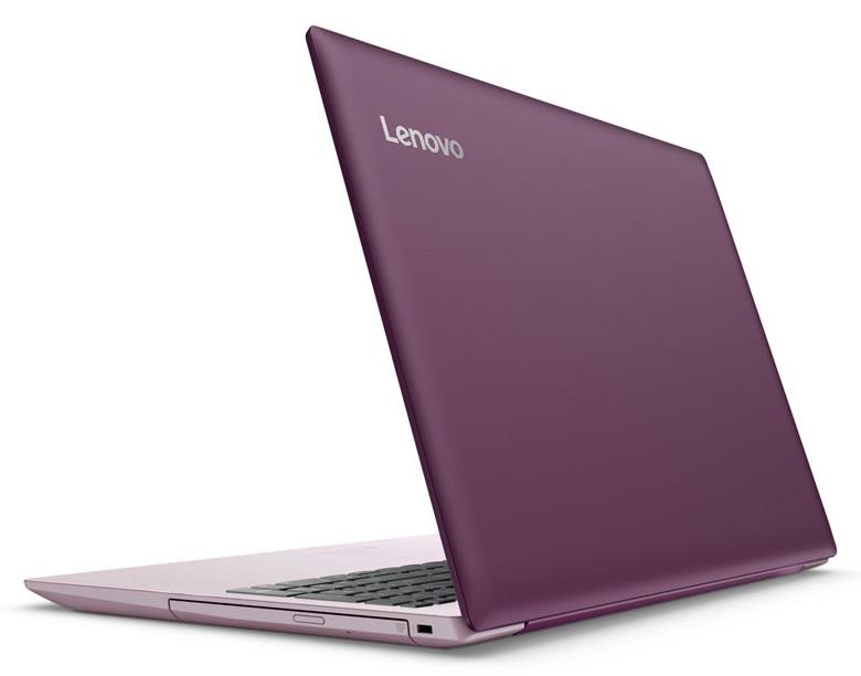 Фото  Ноутбук Lenovo ideapad 320-15IKB Plum Purple (80XL0423RA)