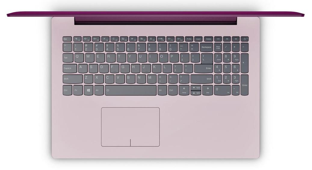 Фото  Ноутбук Lenovo ideapad 320-15IKB Plum Purple (80XL041LRA)