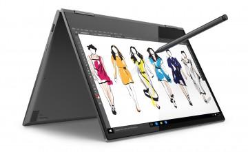 Фото 1 Ультрабук Lenovo Yoga 730 Iron Grey (81CT008PRA)