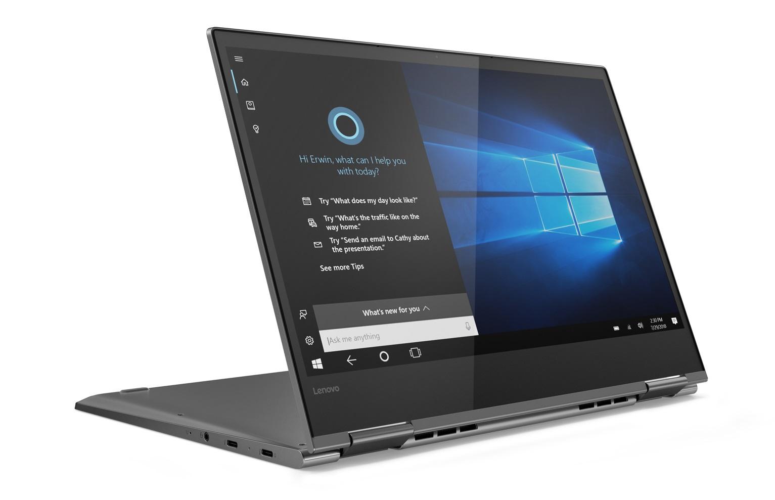Фото  Ультрабук Lenovo Yoga 730 Iron Grey (81CT008PRA)