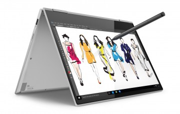 Фото 1 Ультрабук Lenovo Yoga 730 Platinum (81CT008URA)