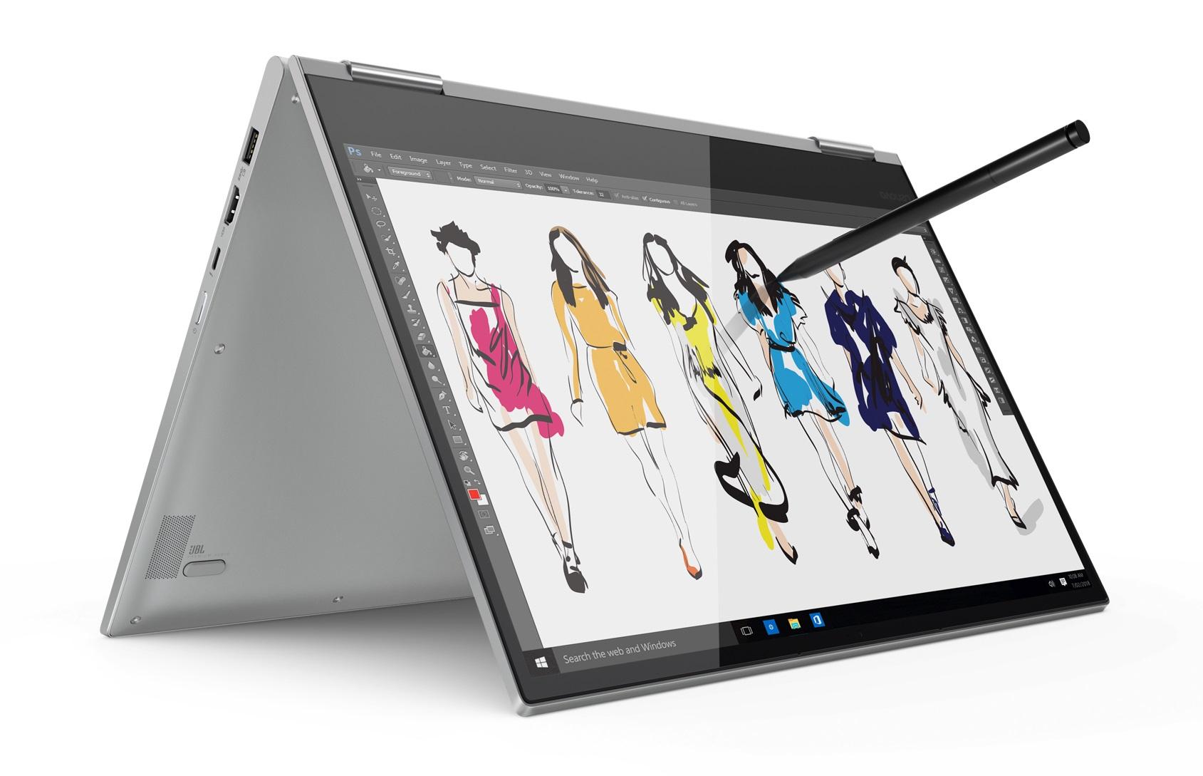 Фото  Ультрабук Lenovo Yoga 730 Platinum (81CU0054RA)