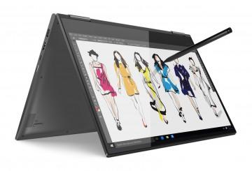 Фото 1 Ультрабук Lenovo Yoga 730 Iron Grey (81CU004YRA)