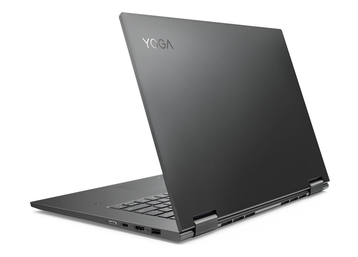 Фото  Ультрабук Lenovo Yoga 730 Iron Grey (81CU0050RA)