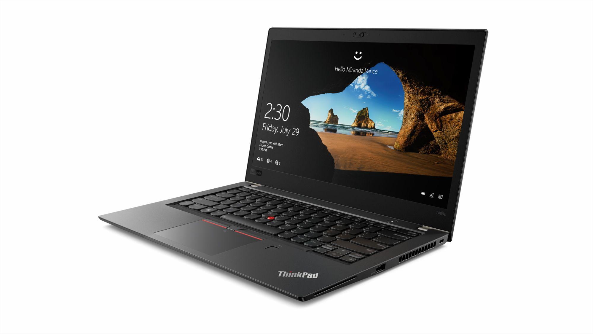 Фото  Ноутбук ThinkPad T480s (20L8S30K0M)