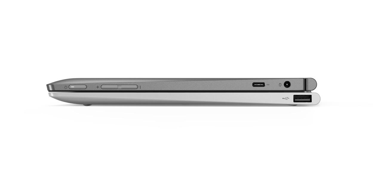 Фото  Планшет Lenovo ideapad D330-10IGM 4/64 Win10P Mineral Grey (81H3002SRA)