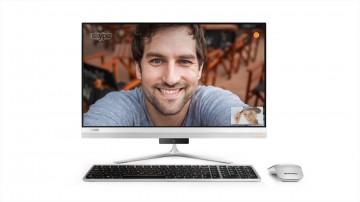 Моноблок Lenovo ideacentre 520s-23 (F0CU006QUA) Silver