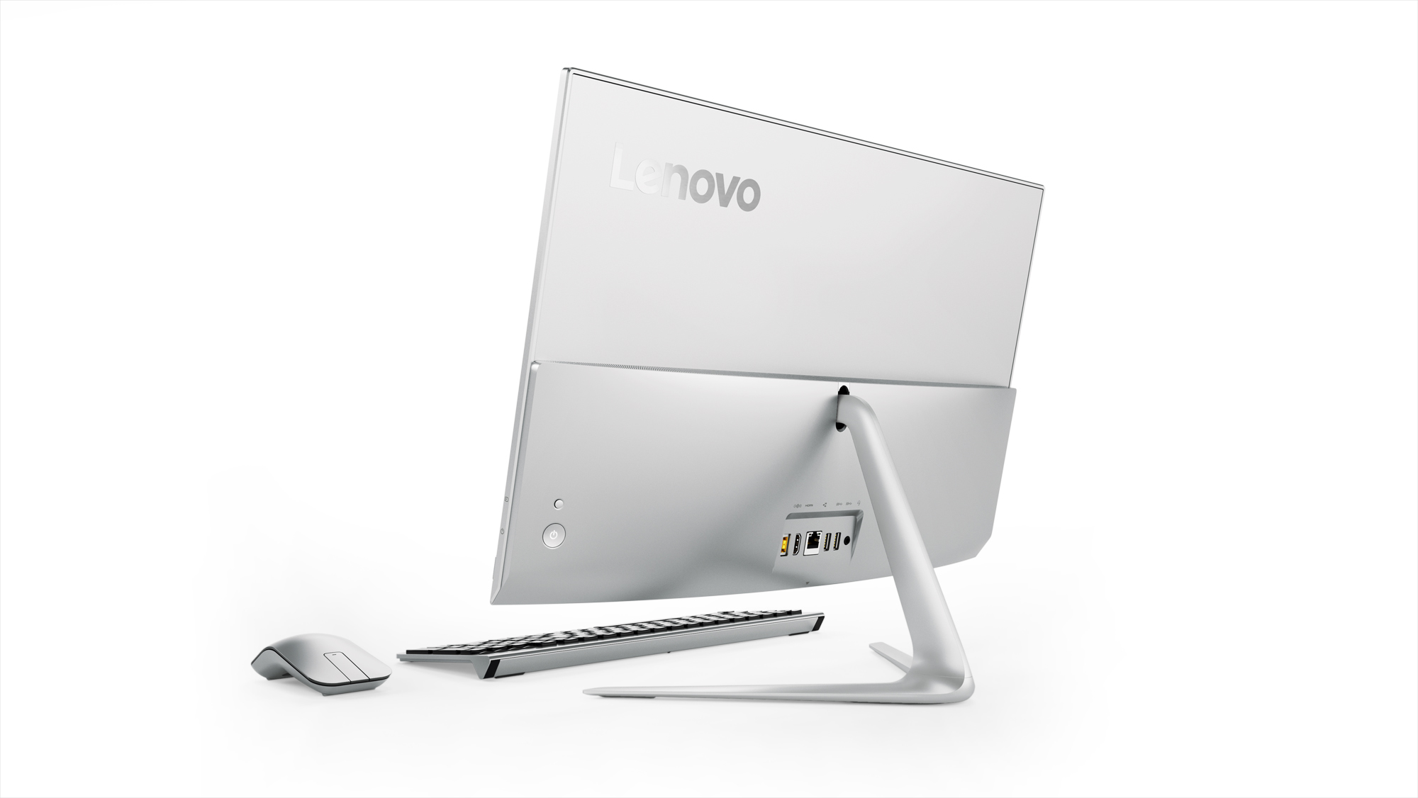 Фото  Моноблок Lenovo ideacentre 520s-23 (F0CU006QUA) Silver