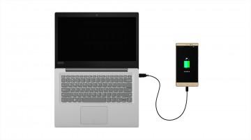 Фото 5 Ультрабук Lenovo ideapad 120S-14 Mineral Grey (81A500BPRA)