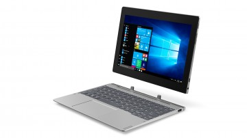 Фото 0 Планшет Lenovo ideapad D330-10IGM 4/64 LTE Win10P Mineral Grey (81H3002YRA)