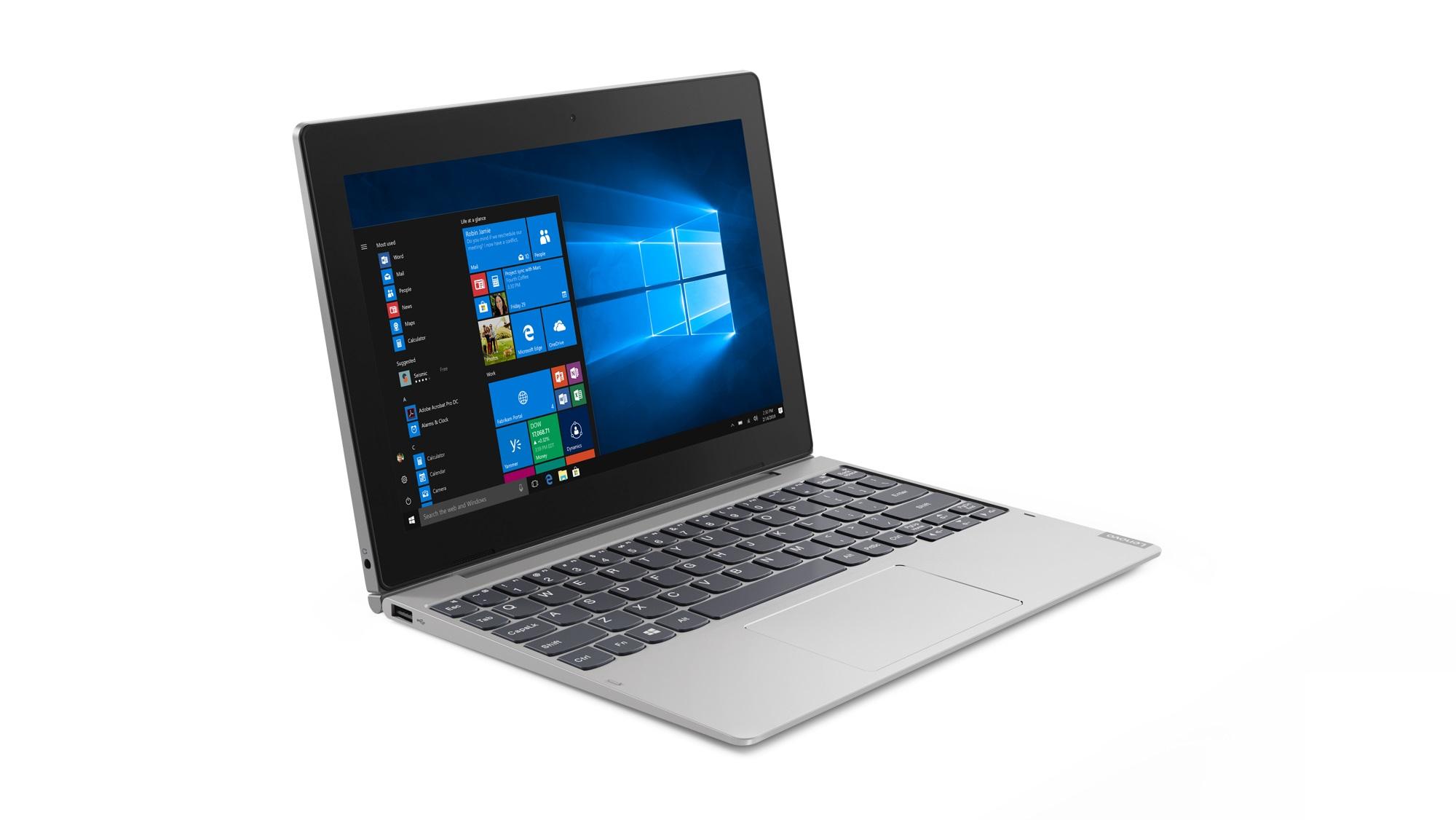 Фото  Планшет Lenovo ideapad D330-10IGM 4/64 LTE Win10P Mineral Grey (81H3002YRA)