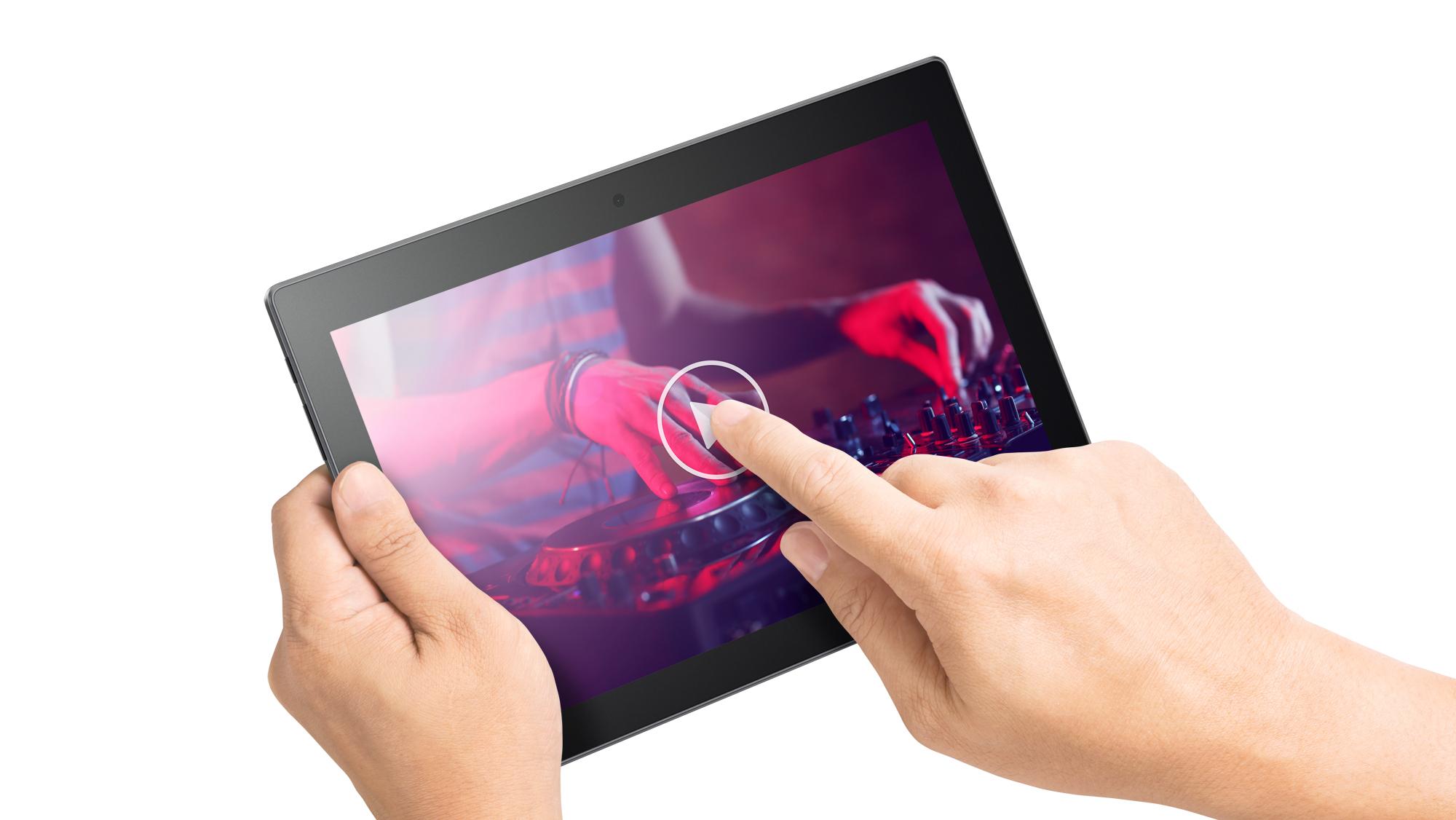 Фото  Планшет Lenovo TAB3 10 Plus LTE 2/16GB Slate Black (ZA0Y0168UA)