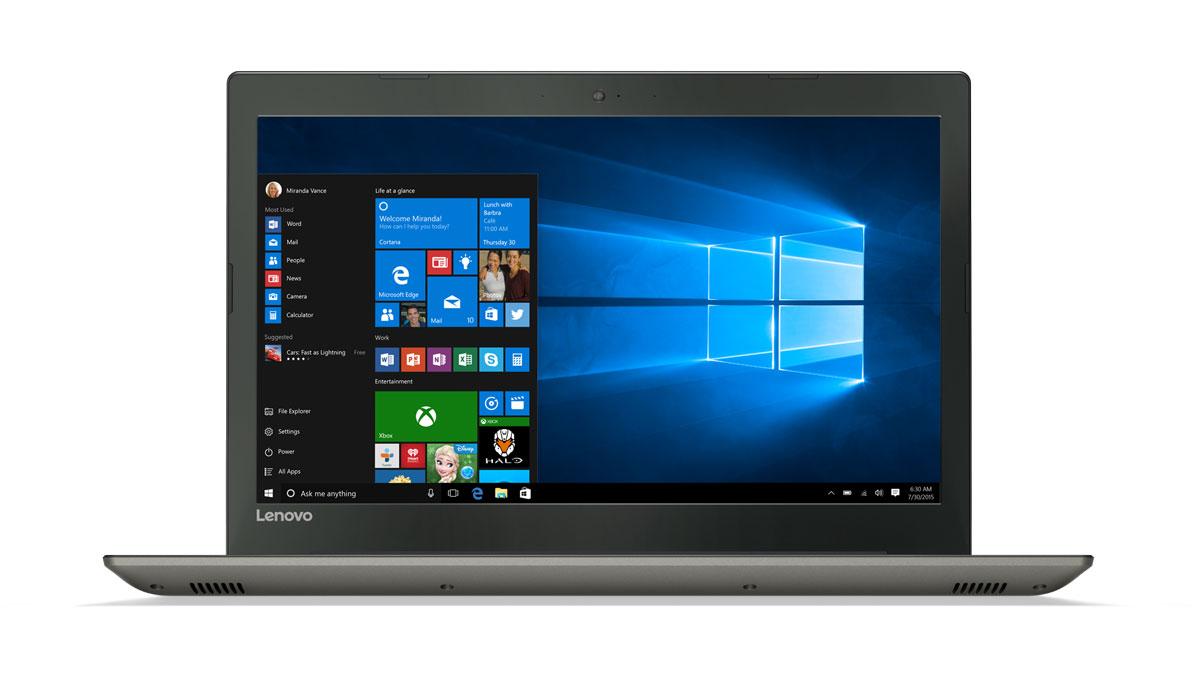 Фото  Ноутбук Lenovo ideapad 520-15IKB Iron Grey (81BF00LERA)