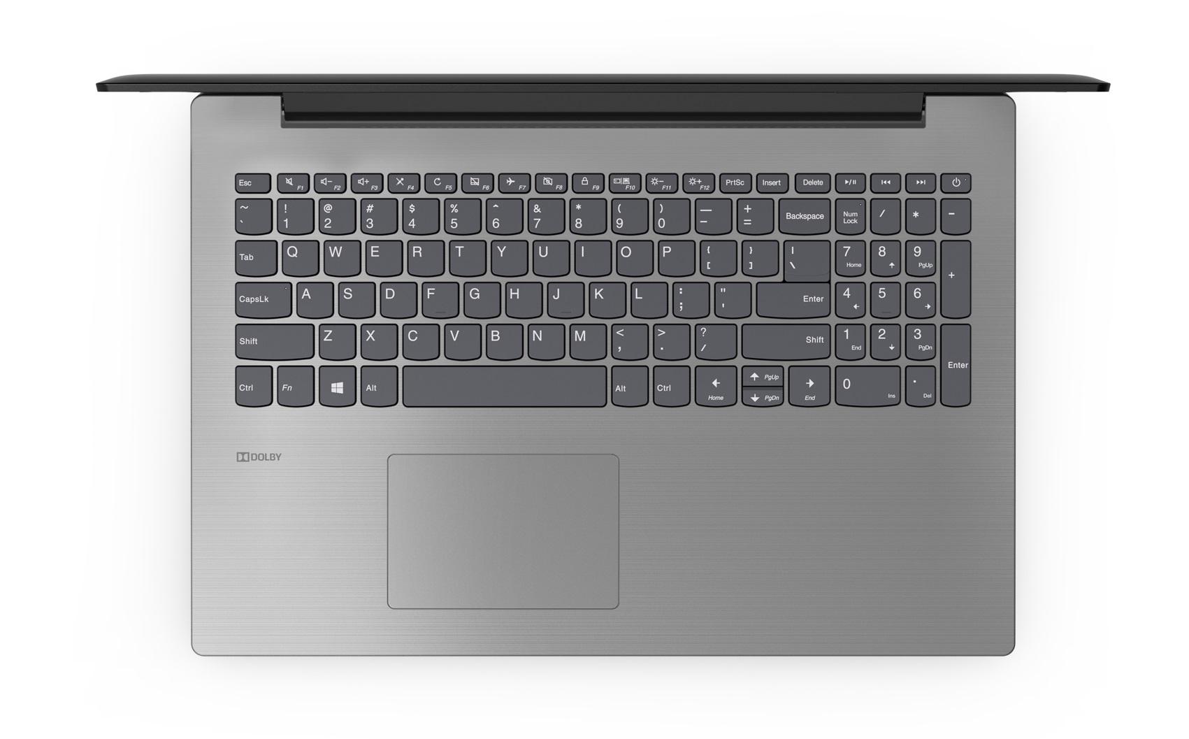 Фото  Ноутбук Lenovo ideapad 330-15 Onyx Black (81D600JYRA)