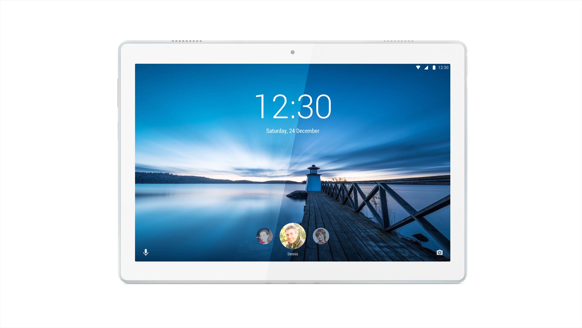 Фото  Планшет  Lenovo Tab M10 X605L LTE 3/32GB Polar White (ZA490104UA)