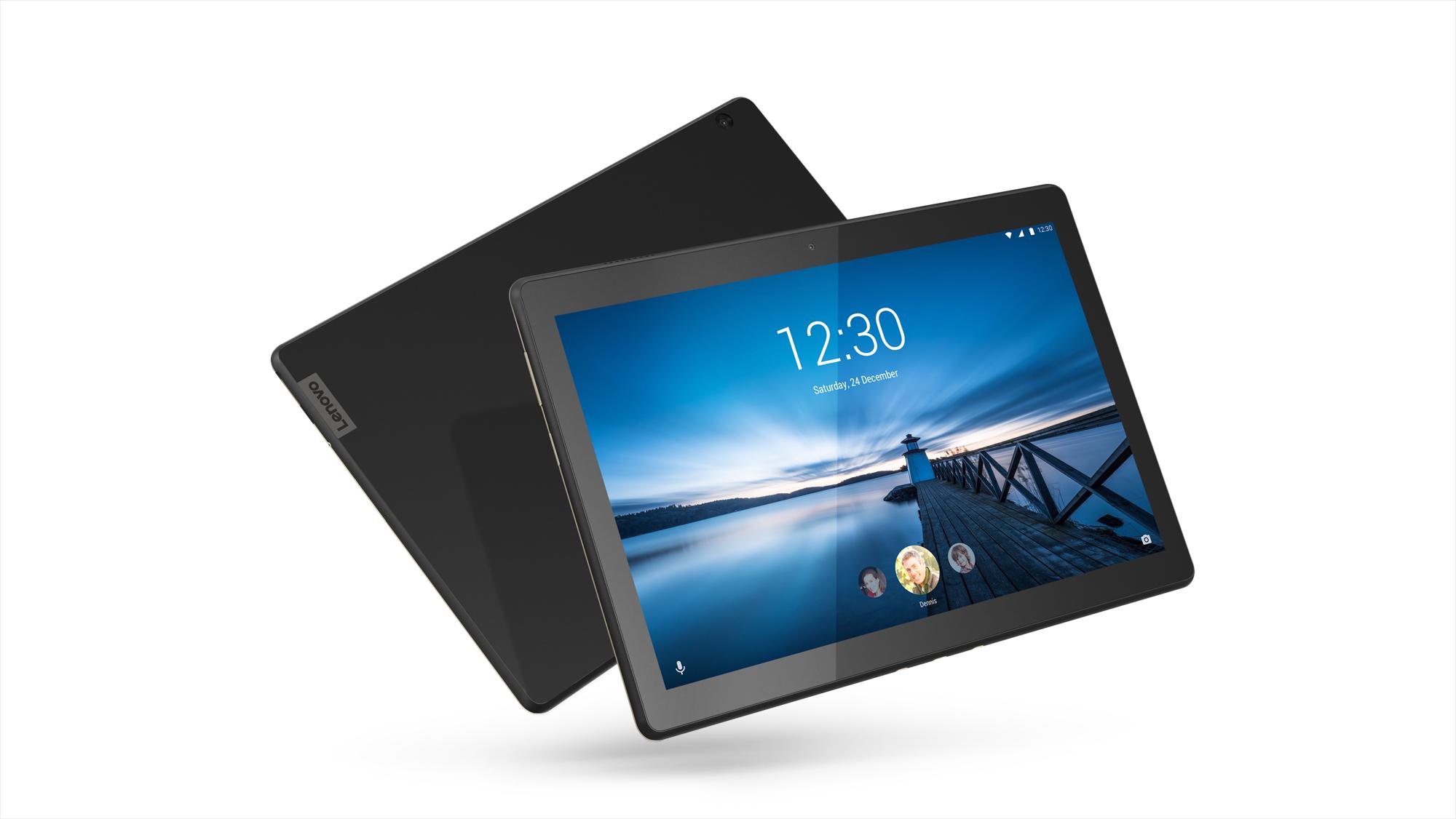 Фото  Планшет  Lenovo Tab M10 X605L LTE 3/32GB Slate Black (ZA490005UA)