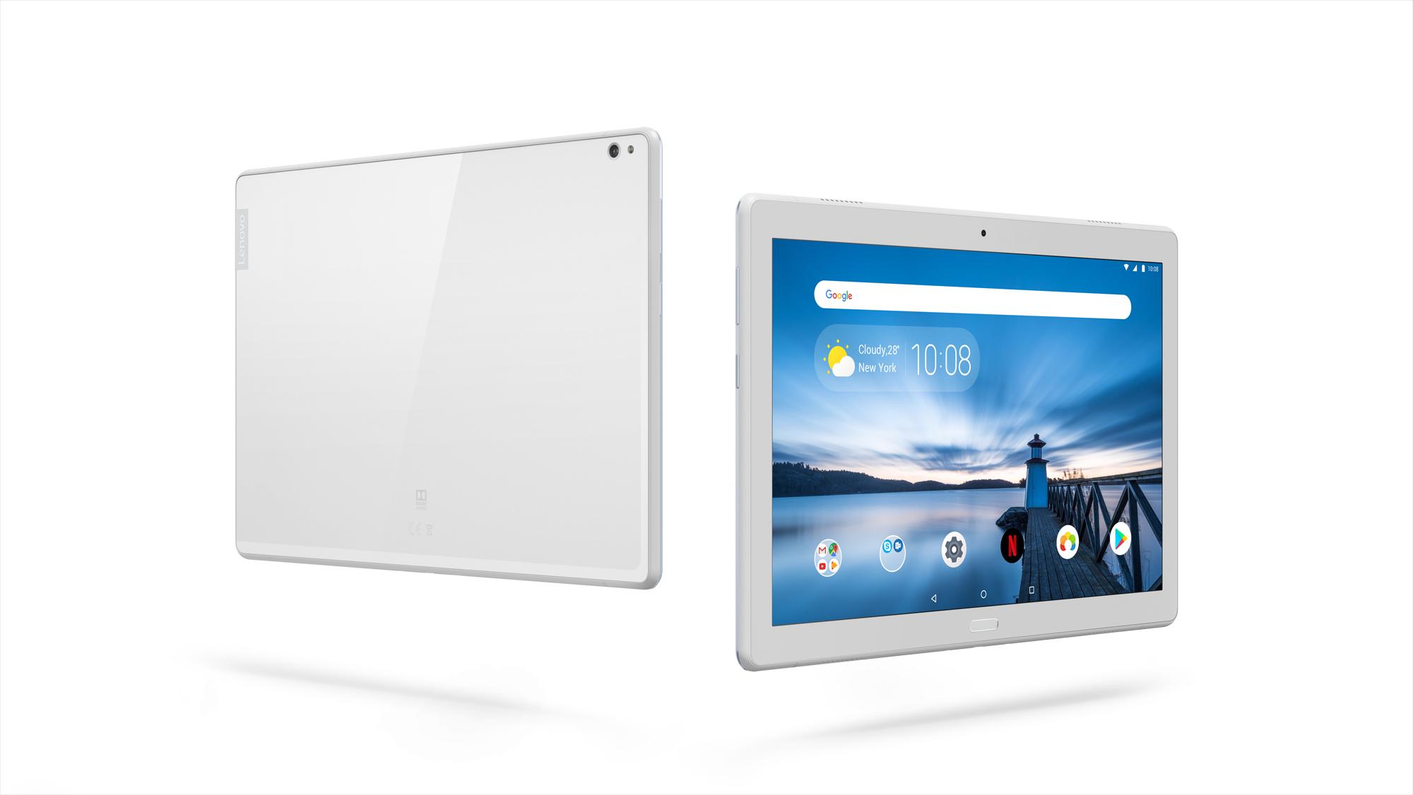 Фото  Планшет Lenovo TAB P10 LTE 4/64GB Sparkling White (ZA450013UA)