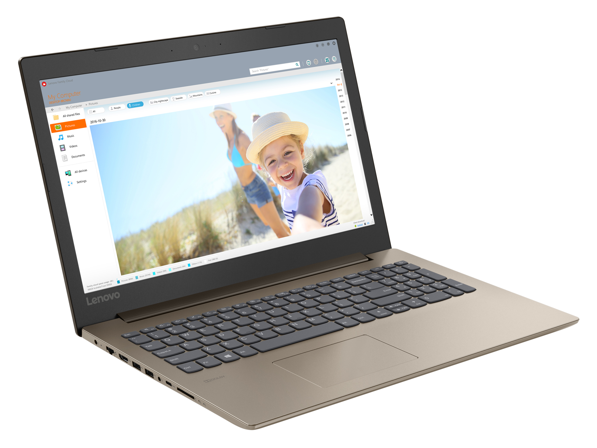 Фото  Ноутбук Lenovo ideapad 330-15 Chocolate (81DC009CRA)