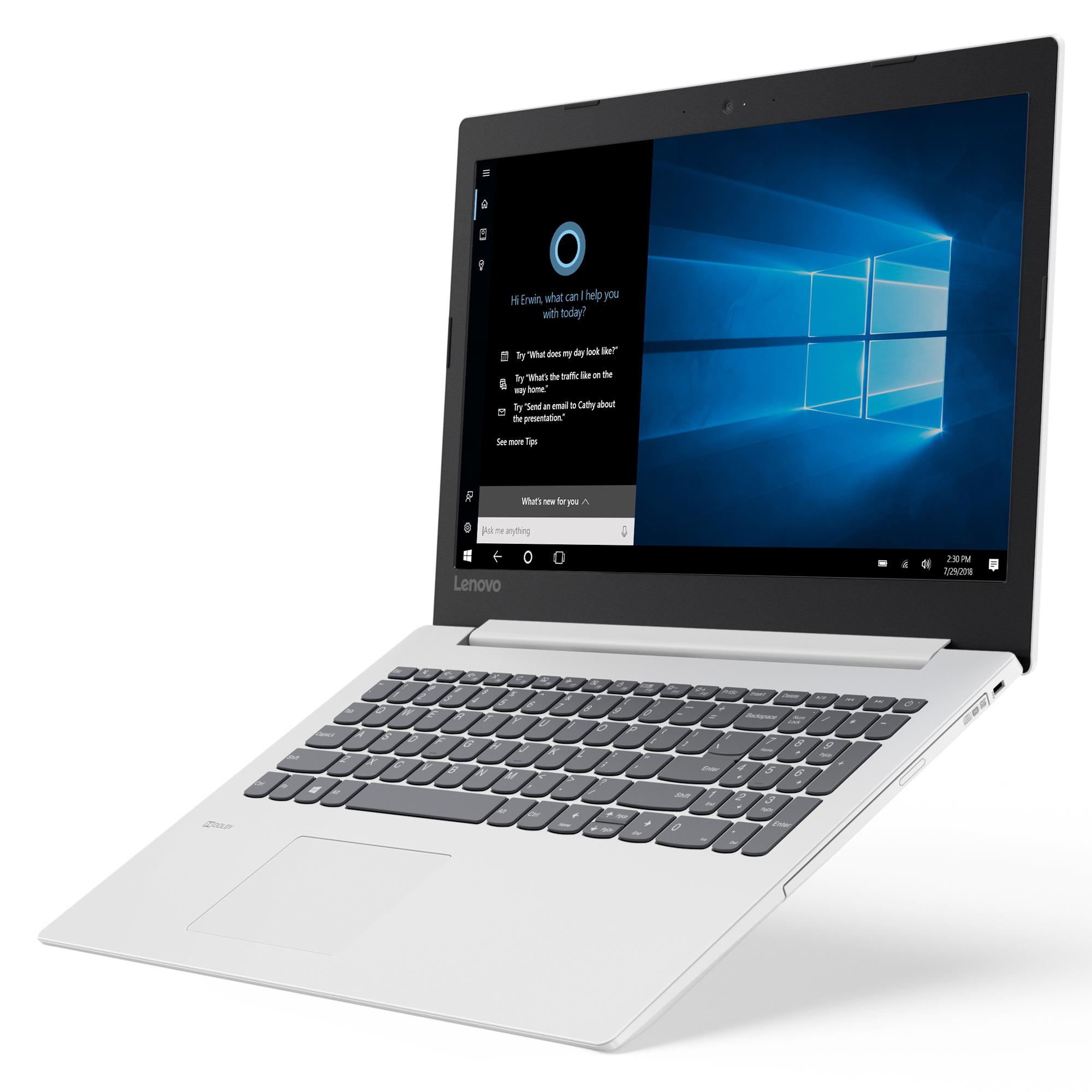Фото  Ноутбук Lenovo ideapad 330-15 Blizzard White (81D100LURA)