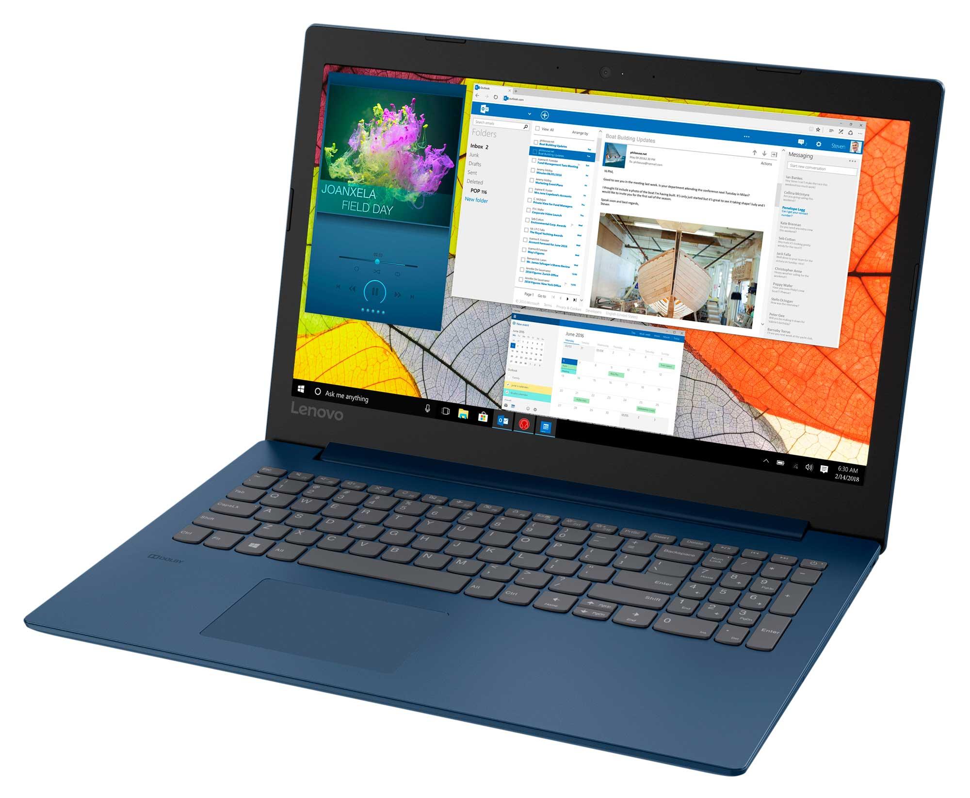Фото  Ноутбук Lenovo ideapad 330-15 Midnight Blue (81DC0108RA)