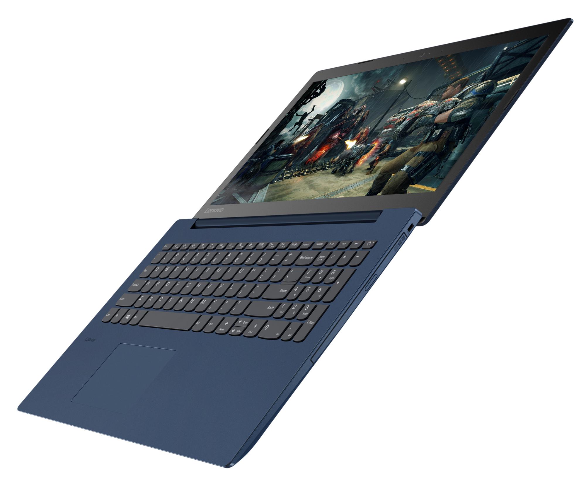 Фото  Ноутбук Lenovo ideapad 330-15 Midnight Blue (81DC010DRA)