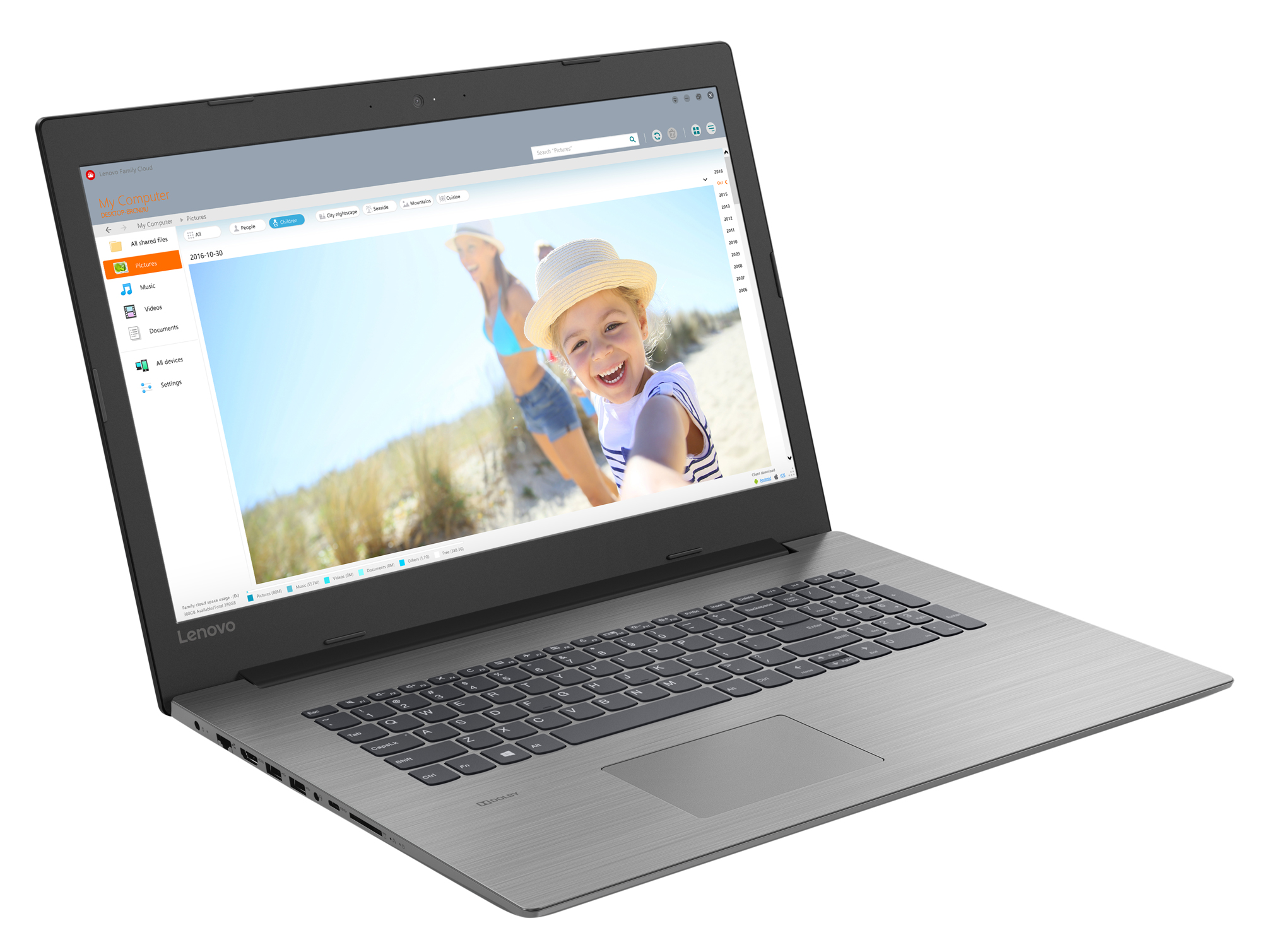 Фото  Ноутбук Lenovo ideapad 330-17IKB Onyx Black (81DK006KRA)
