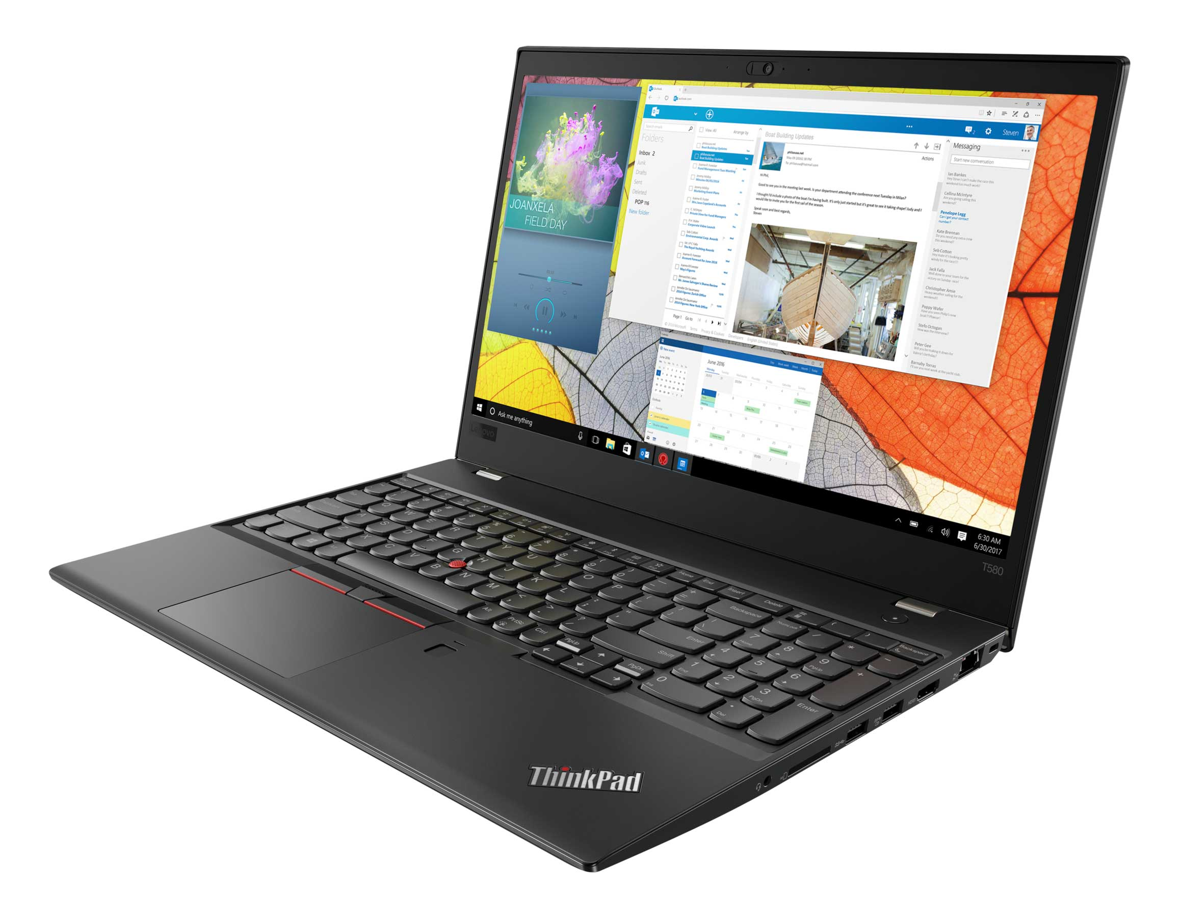 Фото  Ноутбук ThinkPad T580 (20L9002GRT)