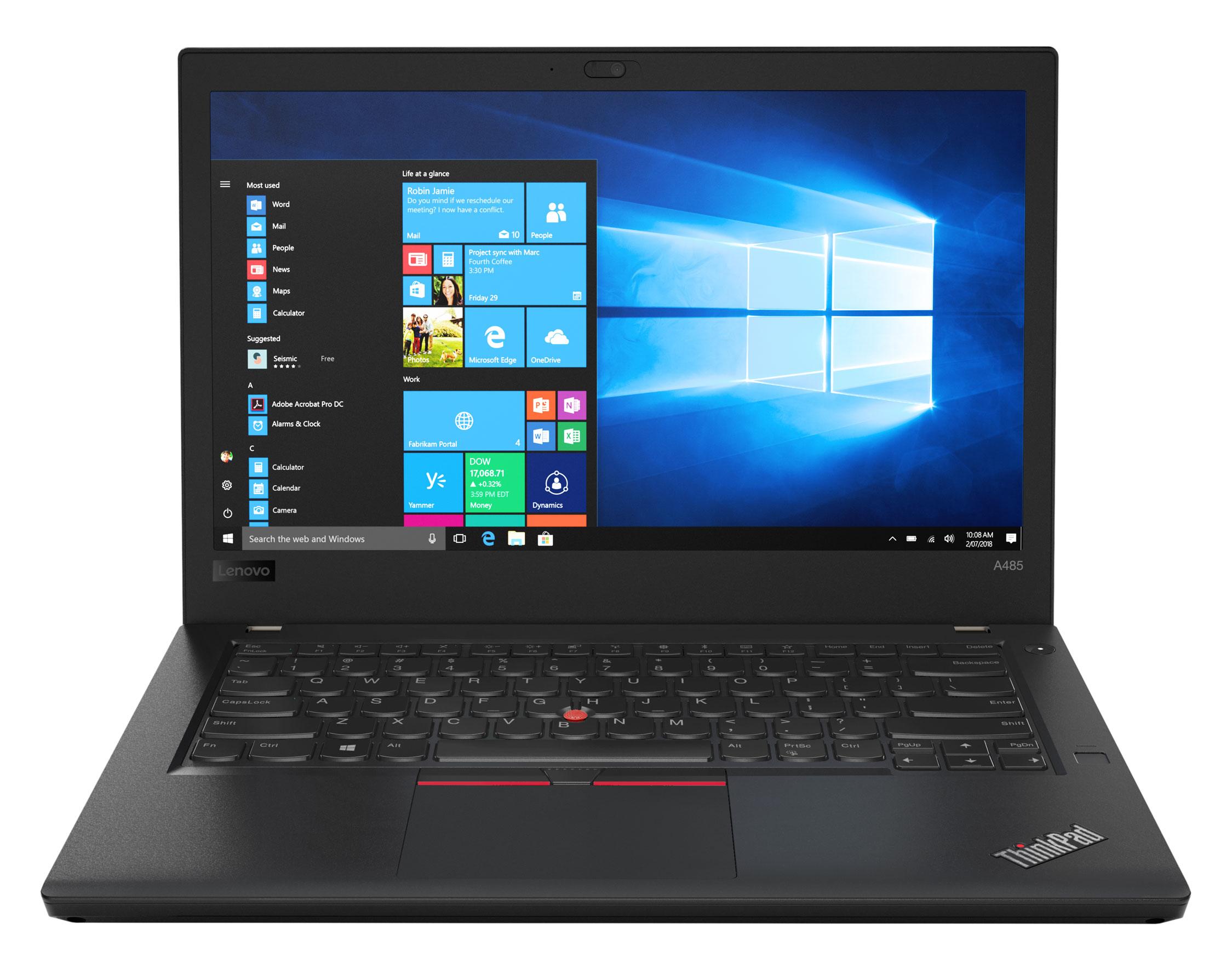 Фото  Ноутбук ThinkPad A485T (20MU000DRT)