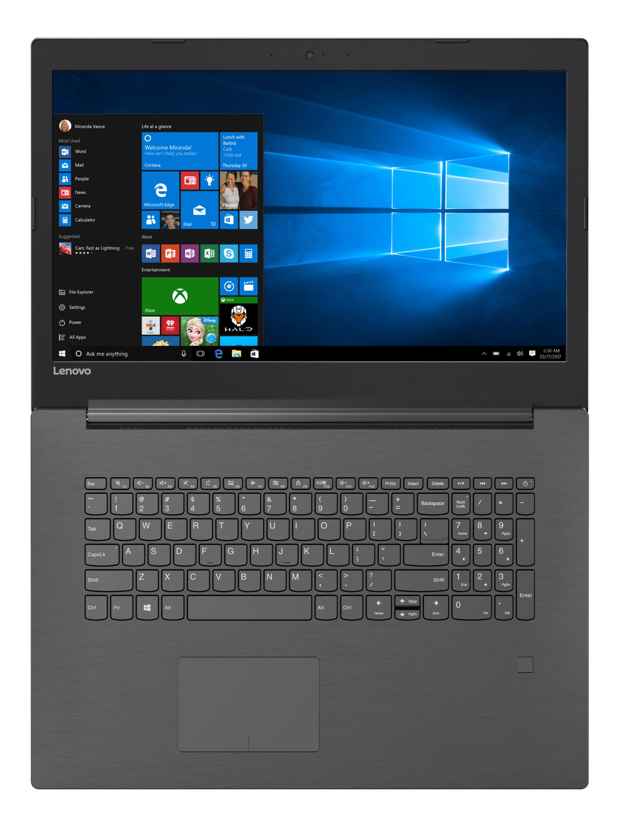 Фото  Ноутбук Lenovo V320-17IKB Iron Grey (81AH001XRA)