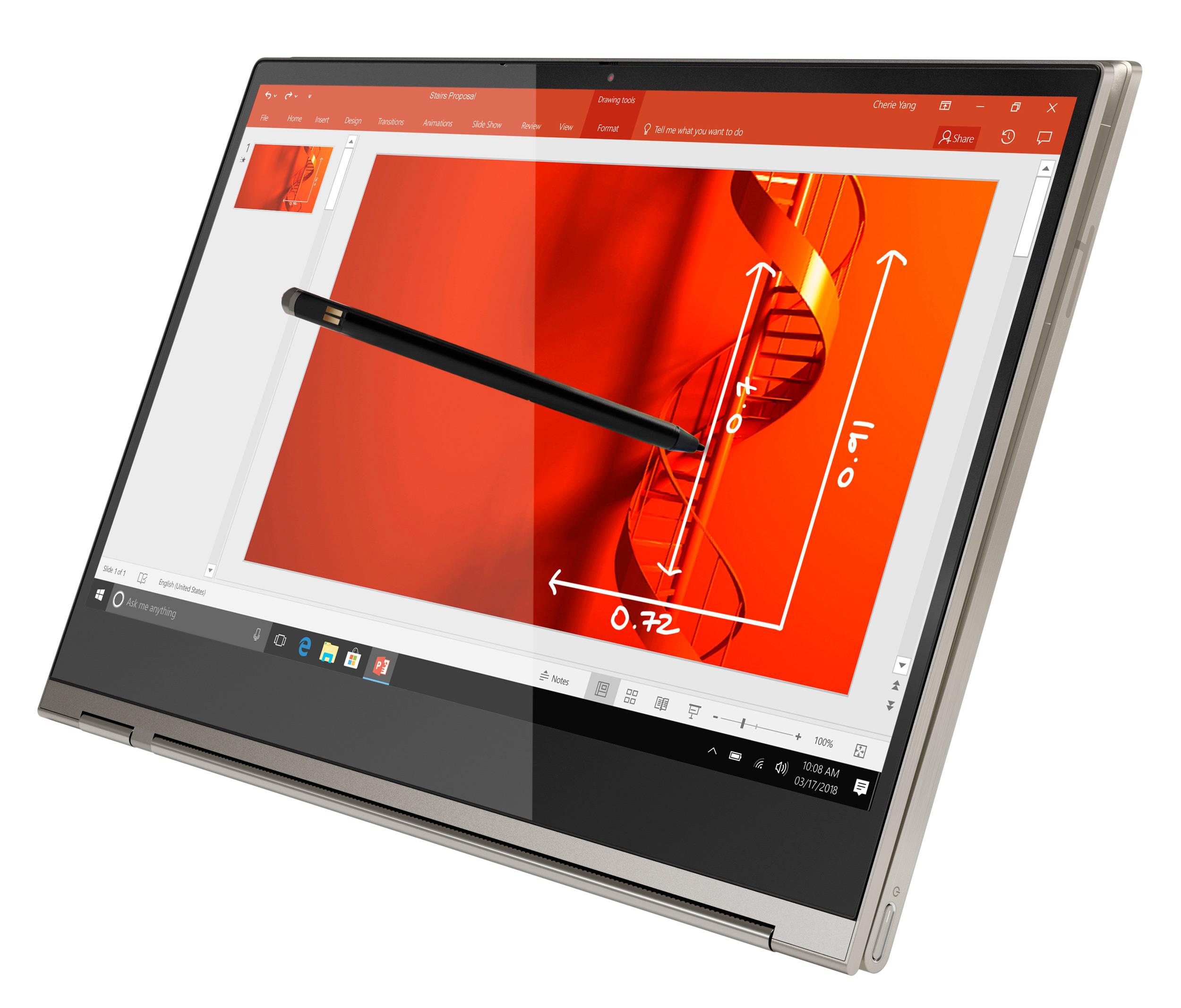 Фото  Ультрабук Lenovo Yoga C930 (81C400LKRA)