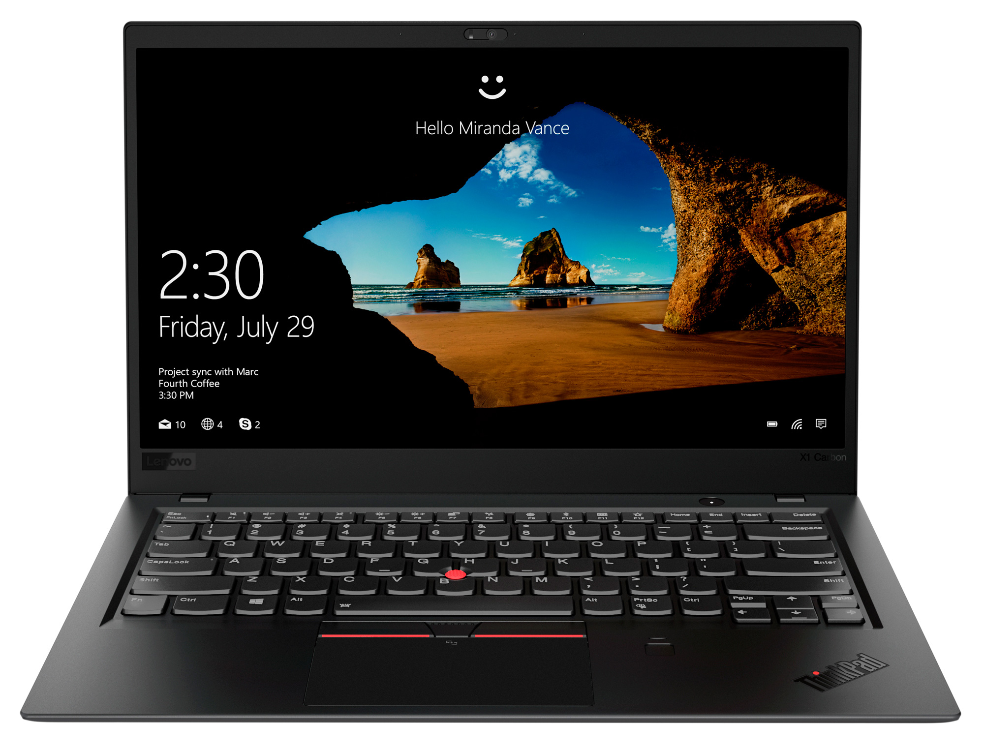 Фото  Ультрабук ThinkPad X1 Carbon 6th Gen (20KH007ART)