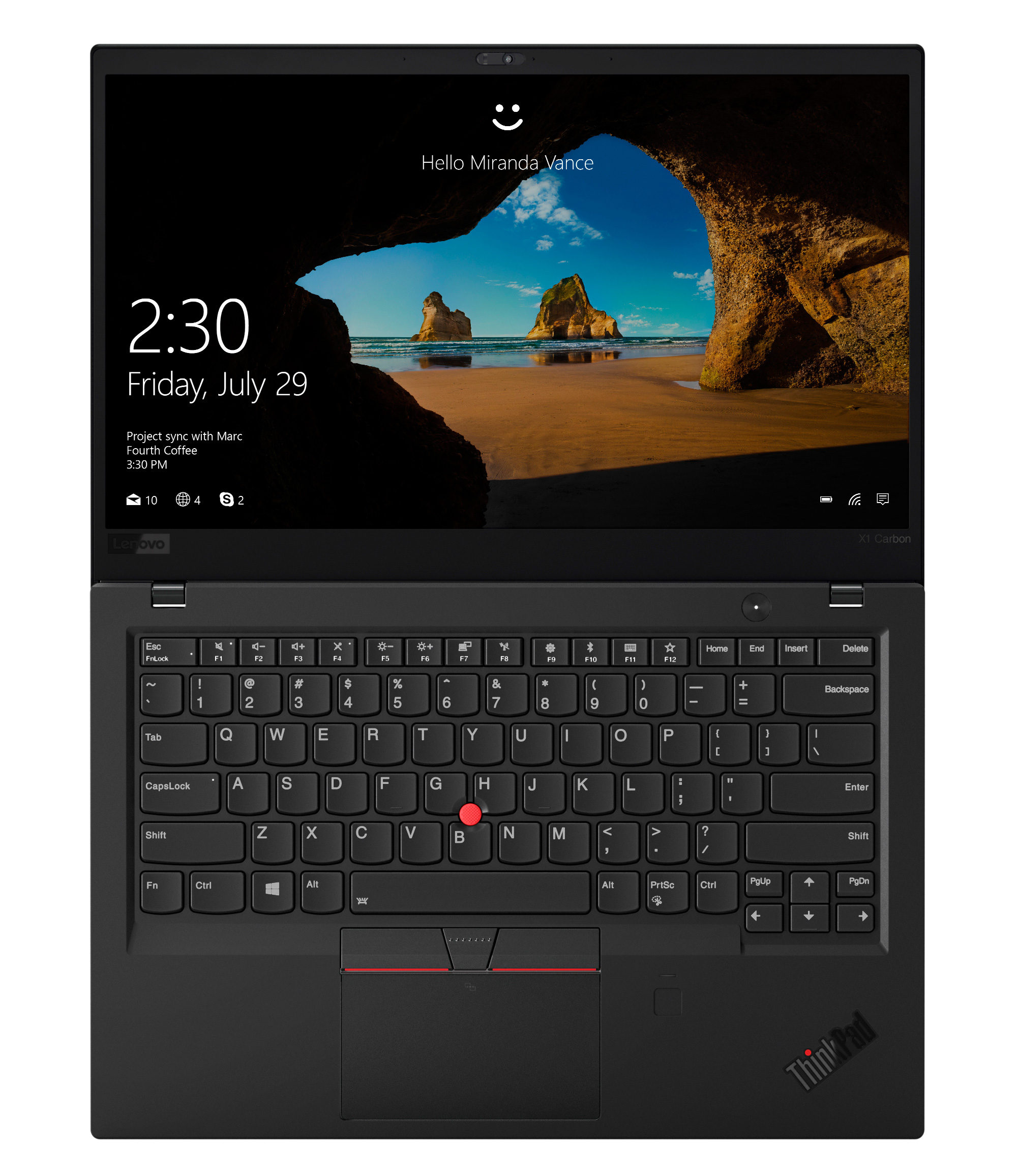 Фото  Ультрабук ThinkPad X1 Carbon 6th Gen (20KG0026RT)