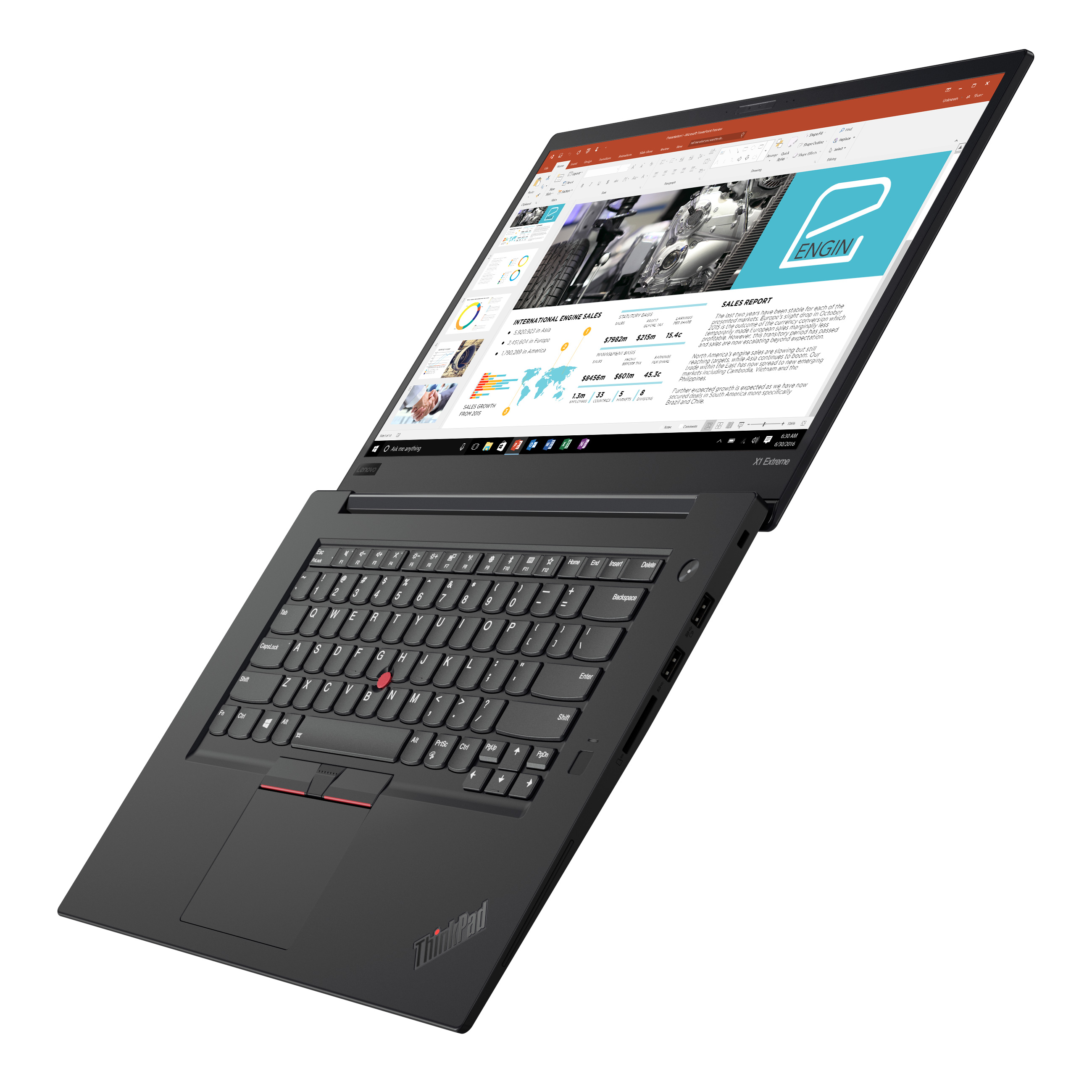 Фото  Ультрабук ThinkPad X1 Extreme 1st Gen (20MF000WRT)