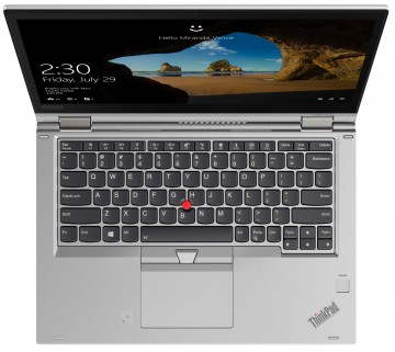 Фото 5 Ноутбук ThinkPad X380 Yoga Silver (20LH001NRT)