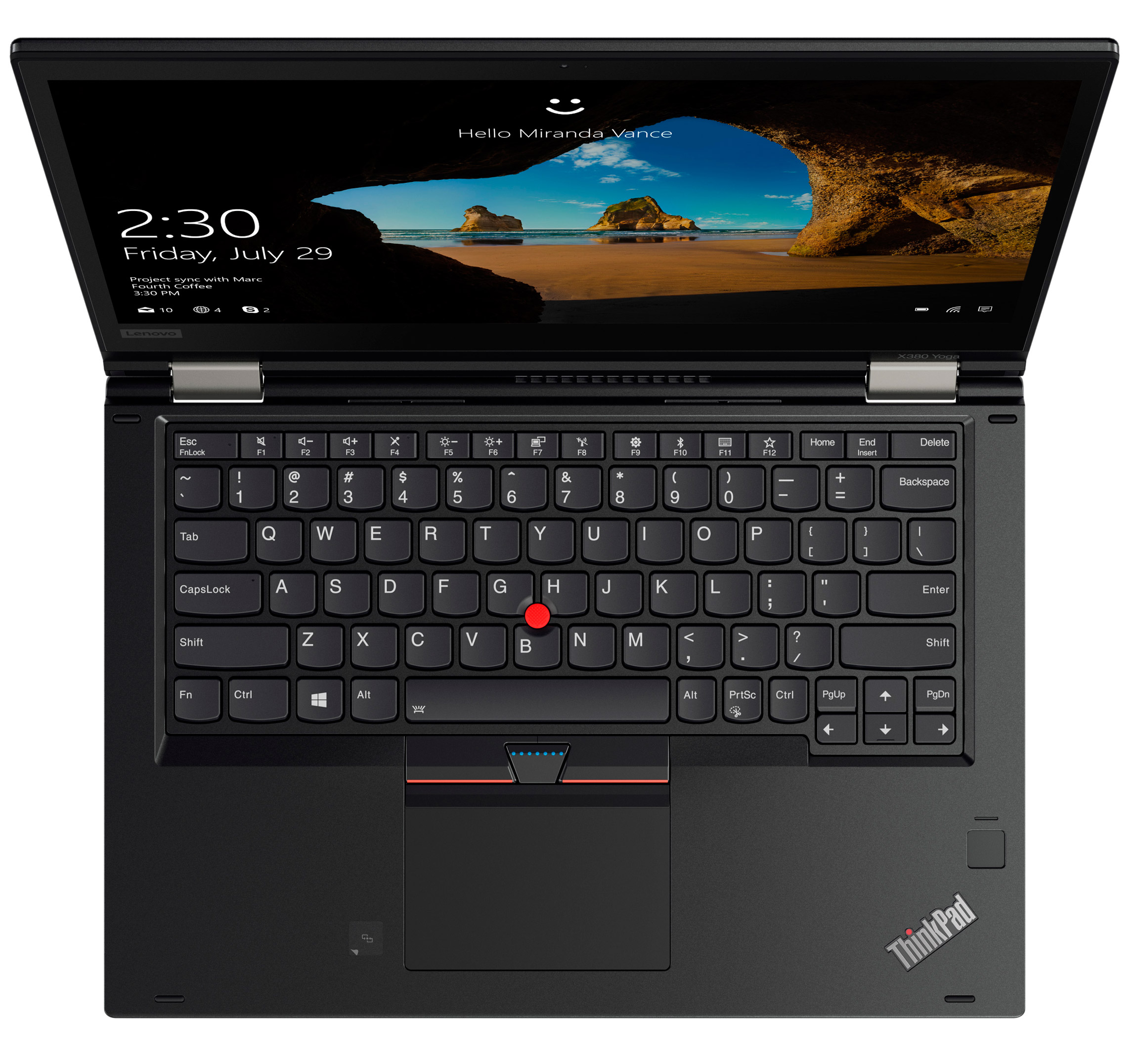 Фото  Ноутбук ThinkPad X380 Yoga (20LH001HRT)