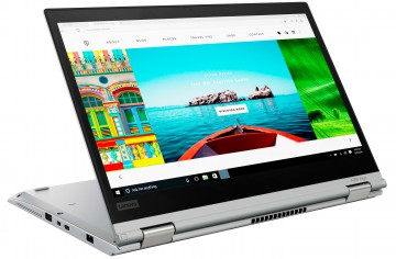 Ноутбук ThinkPad X380 Yoga Silver (20LH001PRT)