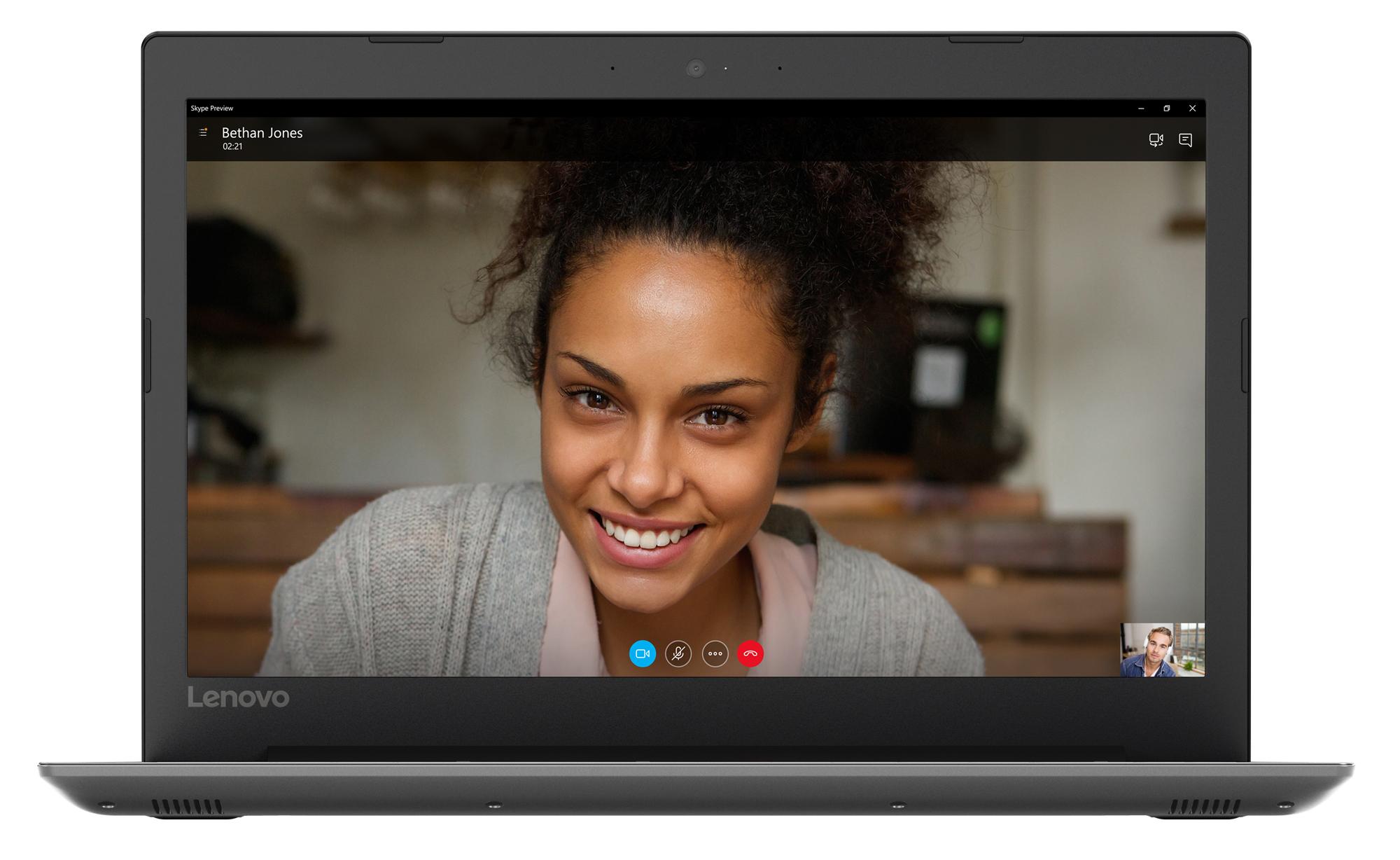 Фото  Ноутбук Lenovo ideapad 330-15IGM Onyx Black (81D100HMRA)