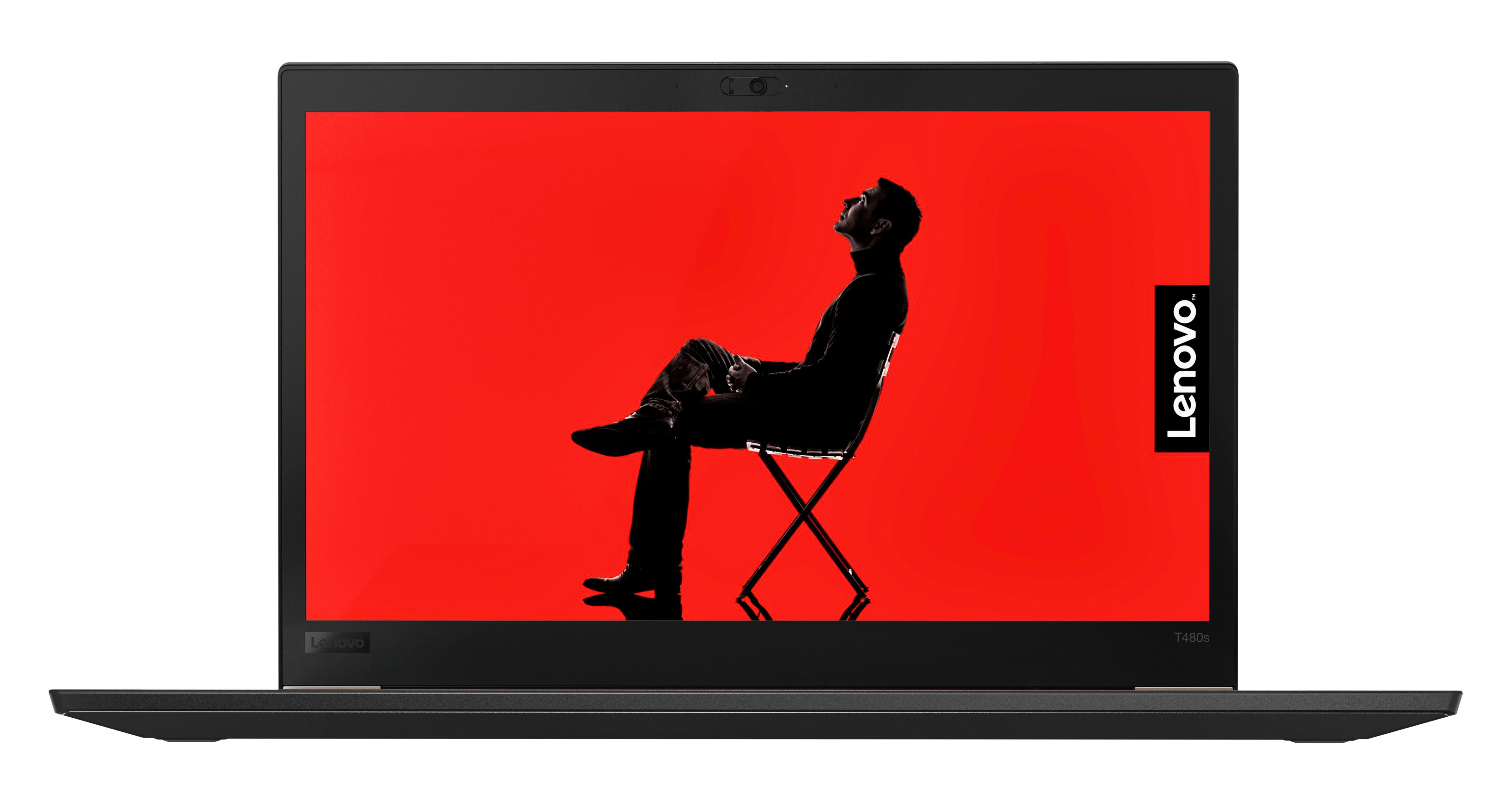 Фото  Ноутбук ThinkPad T480s (20L7001QRT)