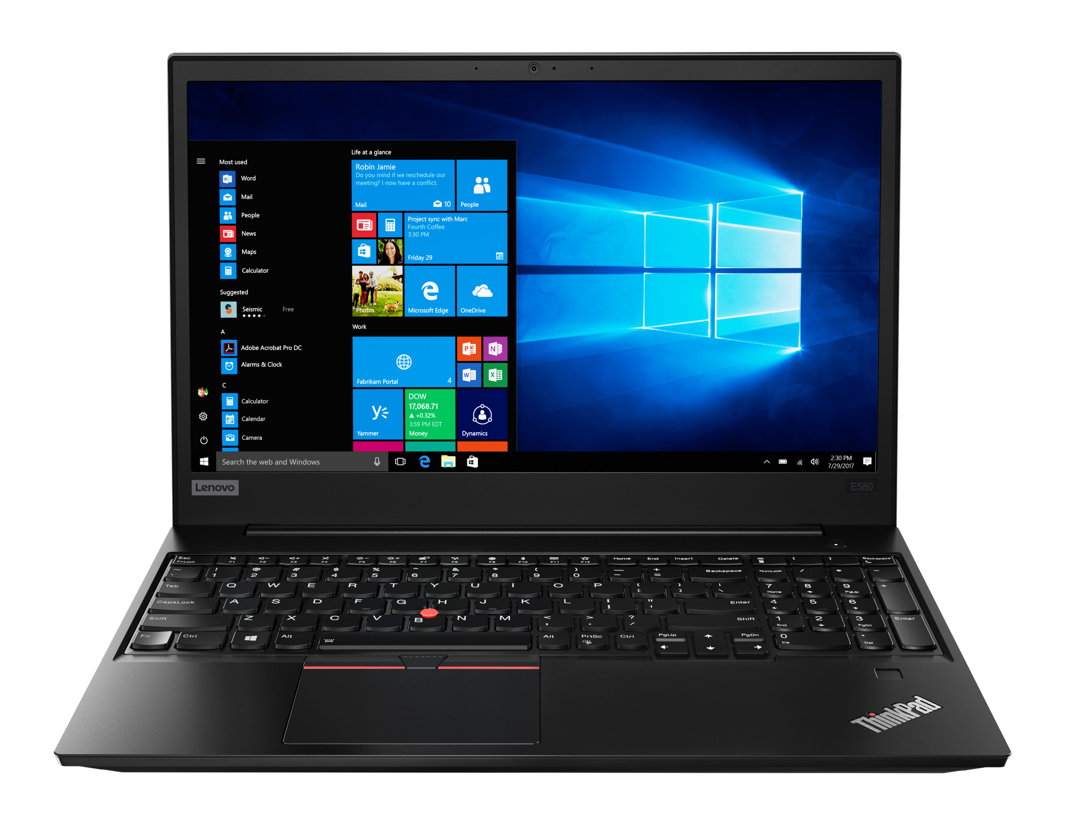 Фото  Ноутбук ThinkPad E580 (20KS001QRT)