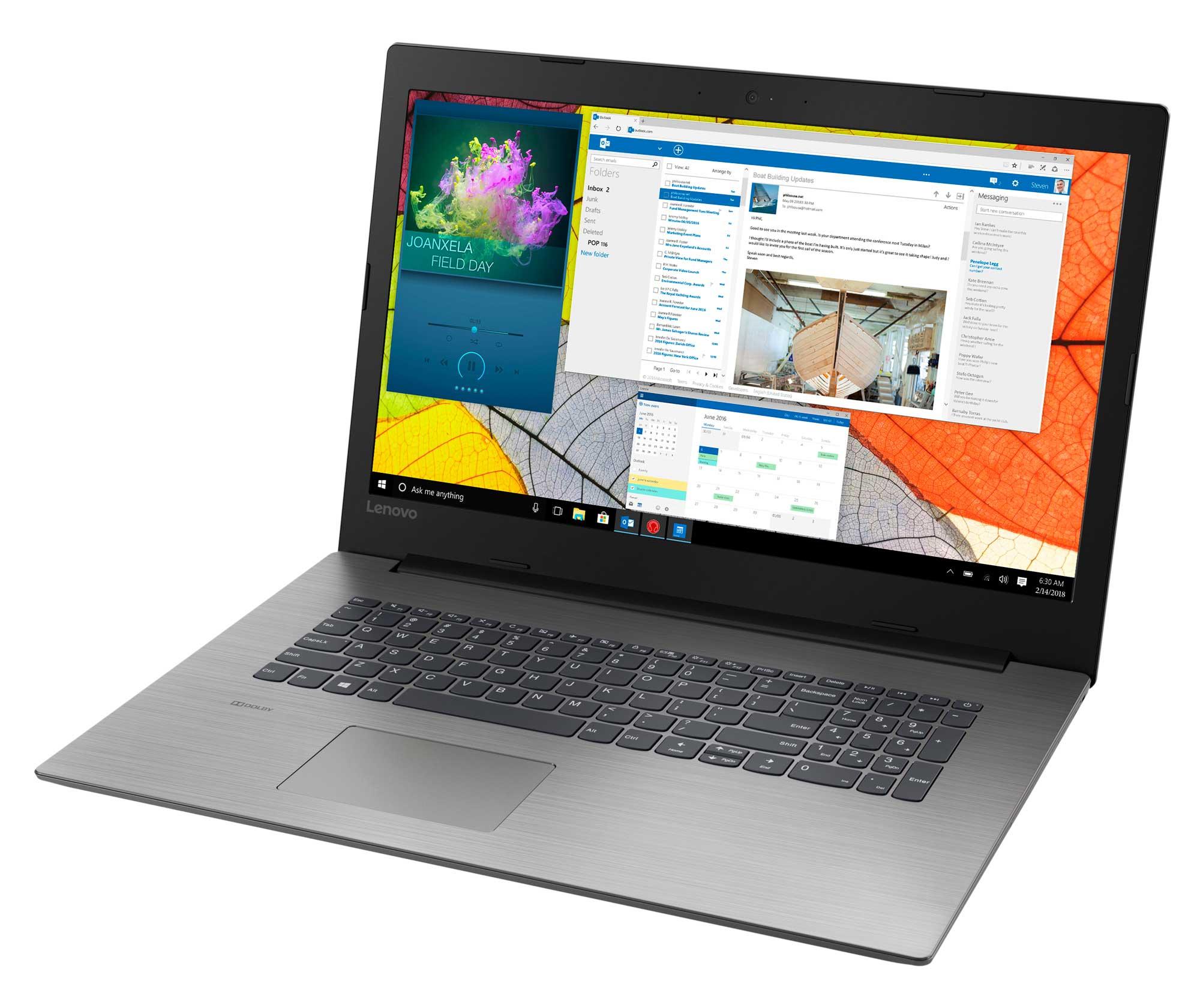 Фото  Ноутбук Lenovo ideapad 330-17IKBR Onyx Black (81DM007LRA)