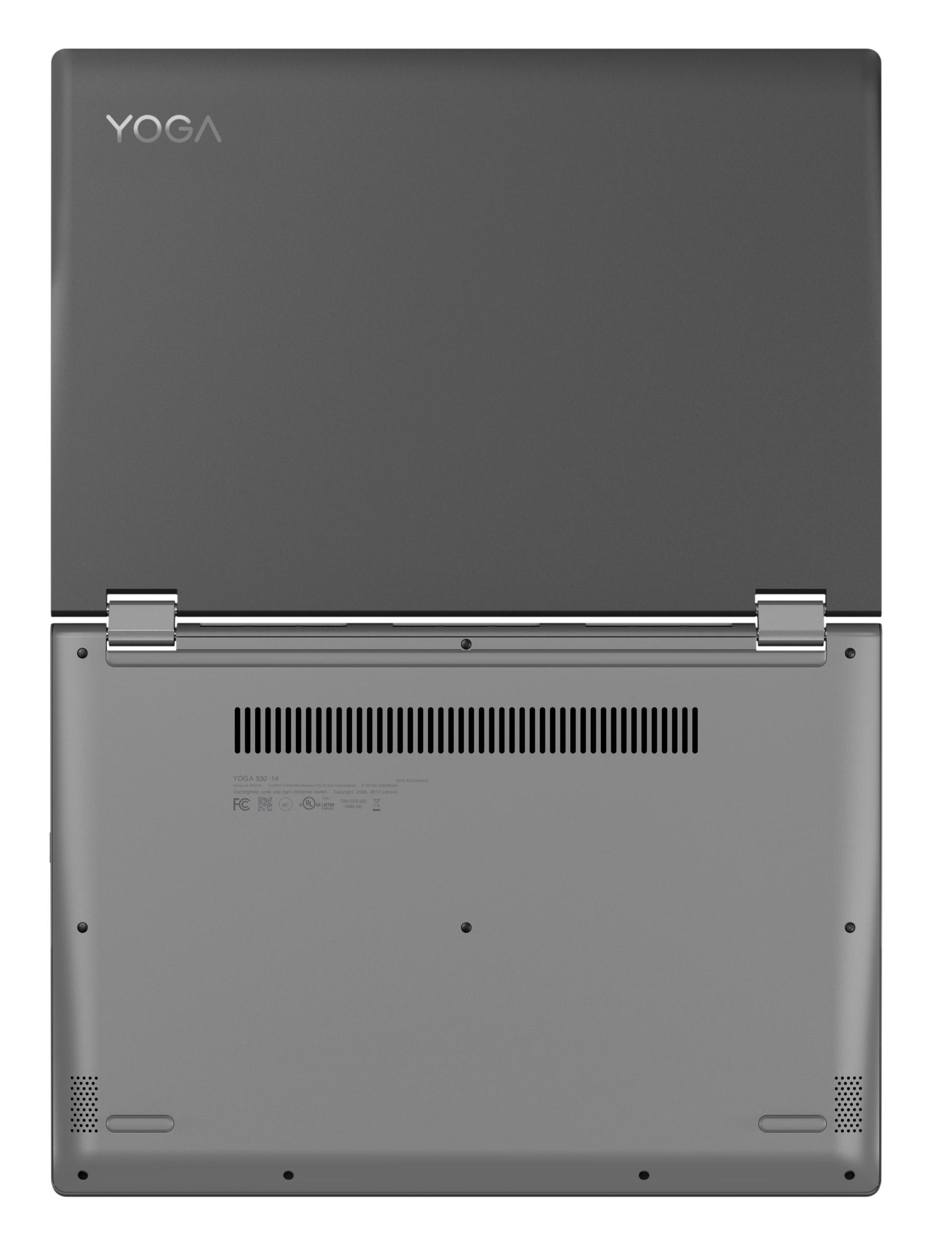 Фото  Ультрабук Lenovo Yoga 530 Onyx Black (81EK00KTRA)