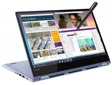 Фото 2 Ультрабук Lenovo Yoga 530 Liquid Blue (81EK00L3RA)