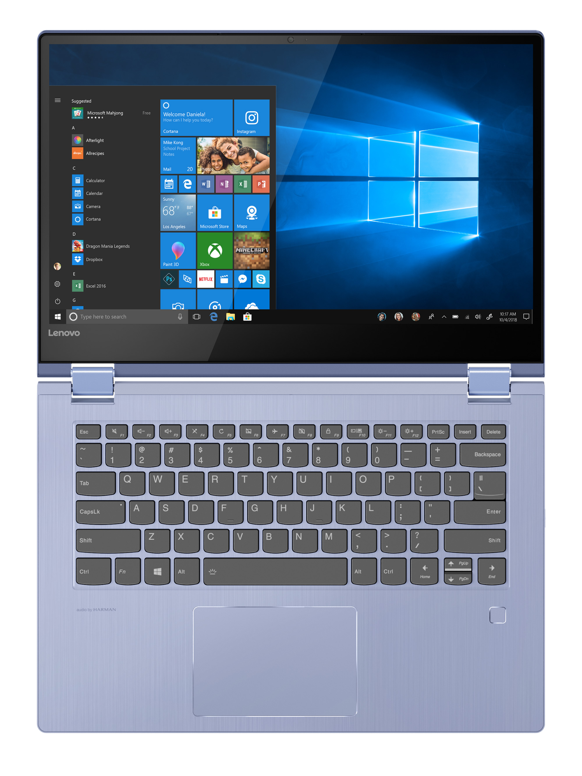 Фото  Ультрабук Lenovo Yoga 530 Liquid Blue (81EK00L3RA)